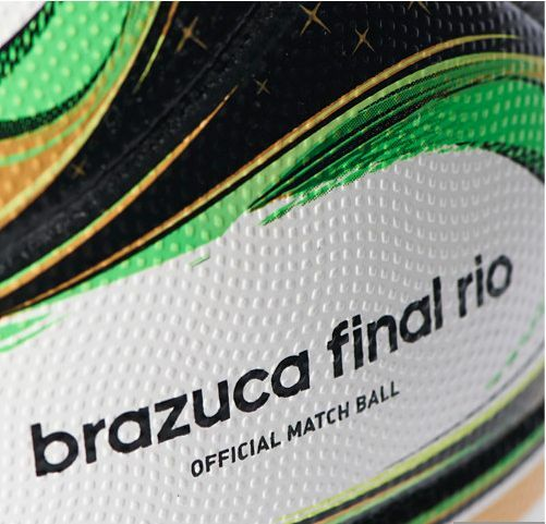 NEW ADIDAS BRAZIL WORLD CUP BRAZUCA FINAL OFFICIAL MATCH BALL 2014 Größe 5 G84000