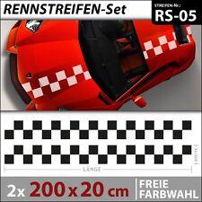 Controlli di gara Strisce Adesivi per auto Car Tuning Styling . RS-05