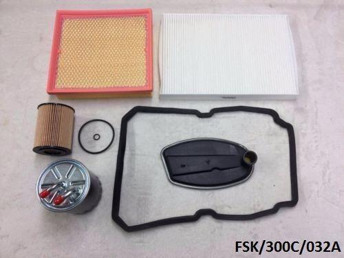 Filters Service KIT Chrysler 300C 3.0CRD 2005-2010 W5A580  FSK//300C//032A