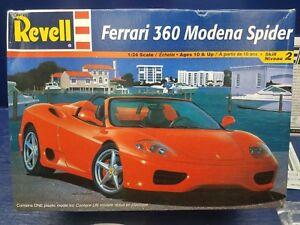 Image Is Loading Revell Ferrari 360 Modena Spyder 1 24 Scale