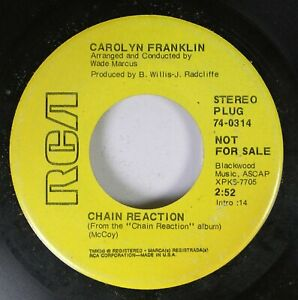 Hear-Northern-Soul-Promo-45-Carolyn-Franklin-Chain-Reaction-Everybody-039-S-Tal