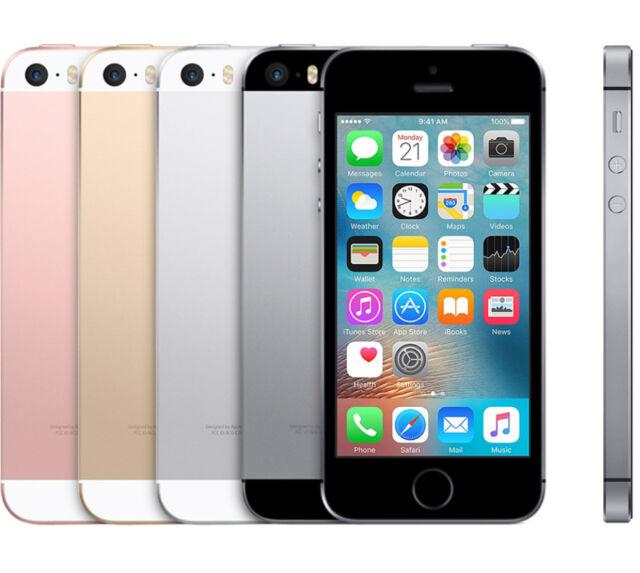 Apple iPhone SE 16GB/32GB 4G LTE (GSM Unlocked/Sprint/AT&T) Smartphone - Grade A