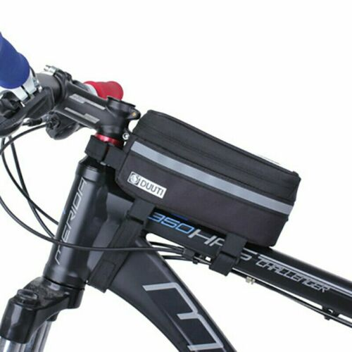 Touchscreen Bike Phone Case Bicycle Frame Front Tube Handlebar Bag Pouch
