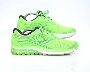 Details about Saucony Glide 9 For Men Size 11.5 neon green, running shoe