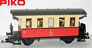 Piko-G-Personenwagen-3-Klasse-der-Koeniglich-Ketschenbacher-Kreisbahn-NEU