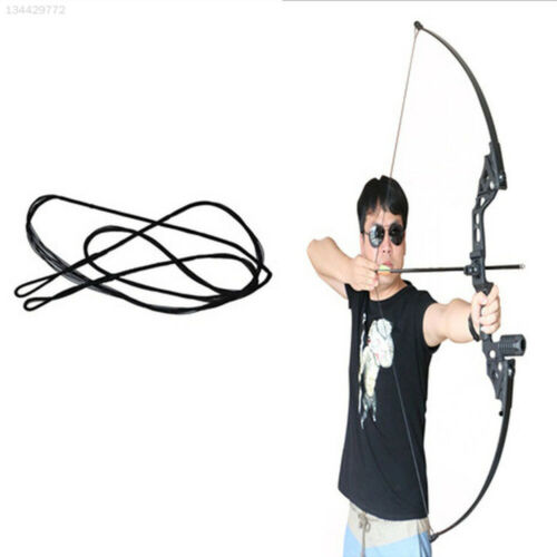 BEE0 48-58 Inch Strings Arrow Rope Tackle Recurve Bow Durable Bowstring