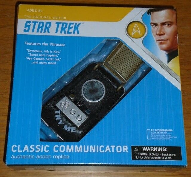 Star Trek Original Series Classic Communicator Authentic Action Replica