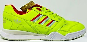 Adidas-Men-039-s-A-R-Trainer-Shoes-Sneakers-Size-10-Running-Yellow-DB2736