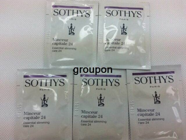 Lot of 5pcs Sothys Essential Slimming Care 24 Sample Free Shipping #da