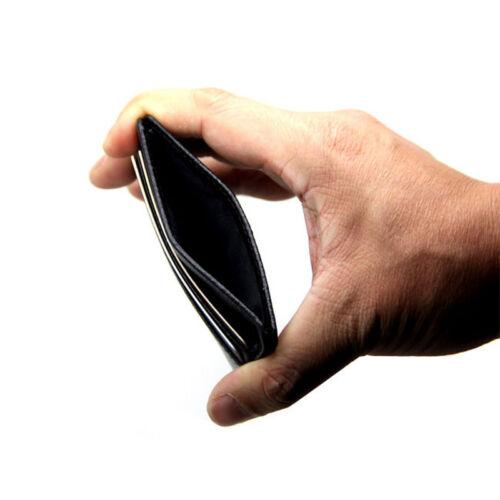Hot vente de détenteur de carte Bank carte de crédit ID Card Holder Case Sac Portefeuille Titulaire