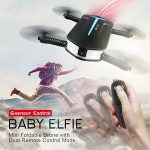 G-Sensor 720P Camera JJRC H37 RC Baby ELFIE Quadcopter Selfie Drone+Batterie<wbr/>s