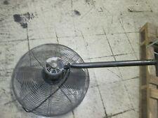 Dayton Exhaust Fan 24 Fan With Mount Motor 6k405c 12hp 115v 1ph 63a Used