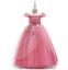 Kids-Flower-Girl-Princess-Dress-for-Girls-Party-Wedding-Bridesmaid-Gown-ZG8 thumbnail 2