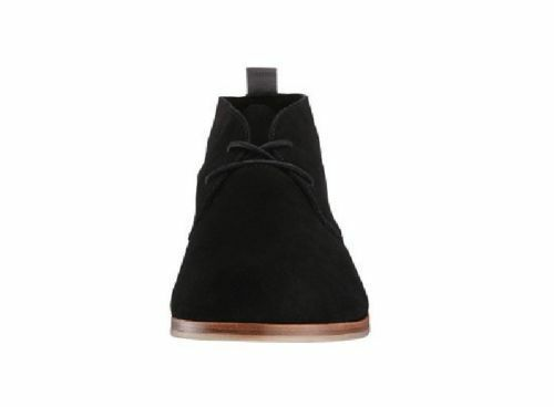 MEN FASHION HANDMADE SUEDE LEATHER FORMAL BOOTS MENS BLACK SHOES