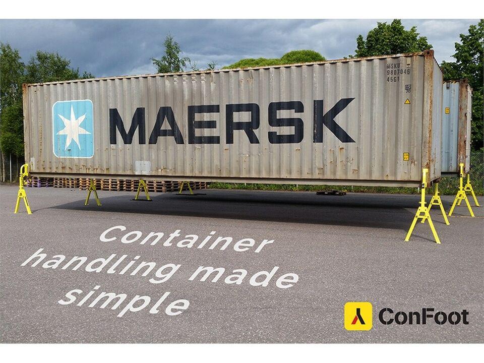 Container ben – kan holde op til 30 ton