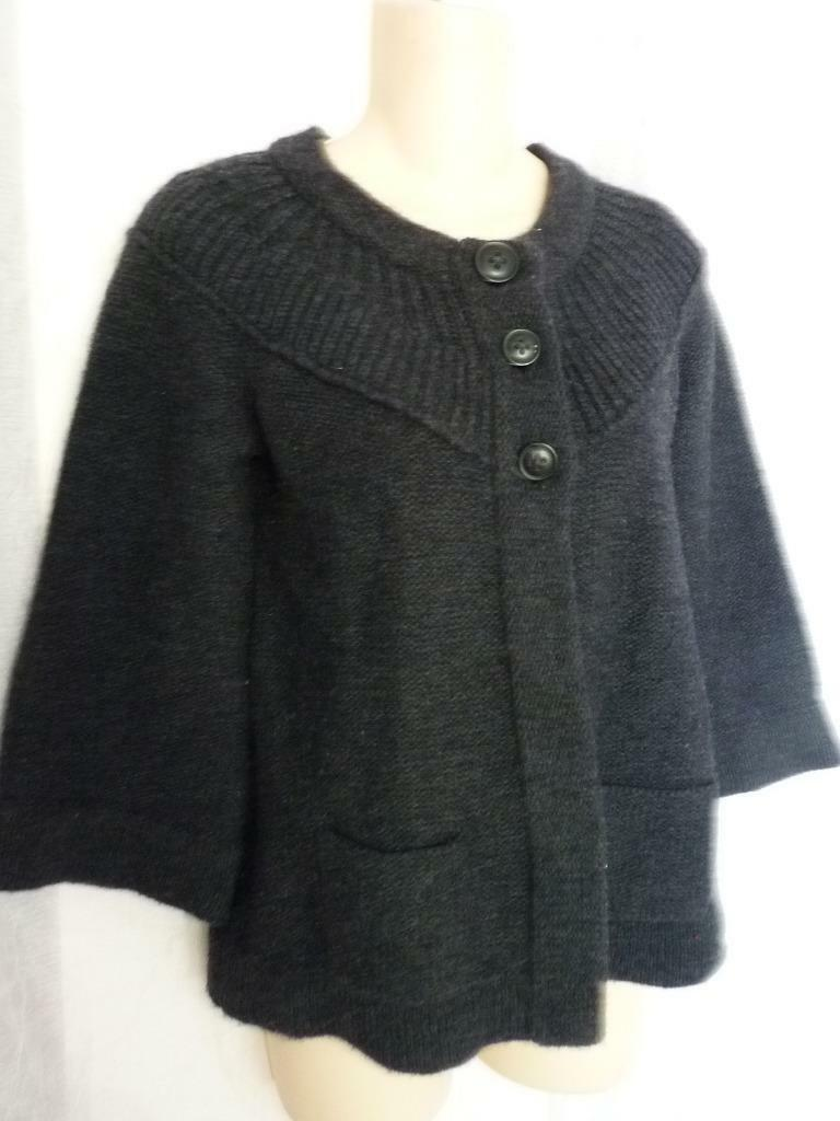 JOIE WOOL CASHMERE CARDIGAN SWEATER S
