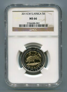 South-Africa-2011-R5-Oom-Paul-Cw-MS-66-Coin-Ngc-Slabbed