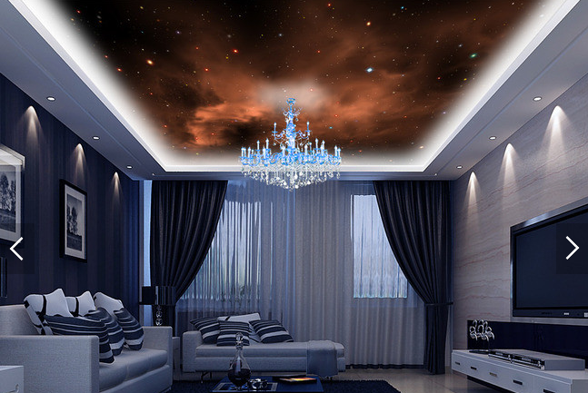 Sky Starry Beautiful 3d 894 Wall Wallpaper Aj Deco Wall