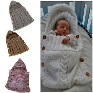 Baby-Kids-Toddler-Newborn-Blanket-Swaddle-Sleeping-Bag-Sleep-Sack-Stroller-Wrap