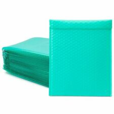 Teal Poly Bubble Mailers Self Seal Envelopes 85 X 12 In 25 Pack