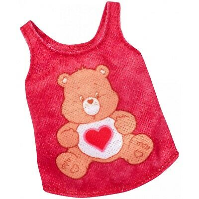 Barbie Fashions Care Bears Pink Tank Top Shirt