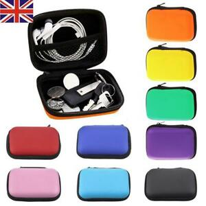 Mini Headphone Case Travel Storage Bag For Earphone Cable Charger Organizer Box by Ebay Seller