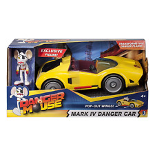 Danger Mouse Mark IV Danger Car Toy pop out Wings Plane Jazwares New in Box