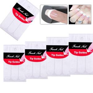 French-Nail-Sticker-Fingernaegel-Aufkleber-Manikuere-Nagel-Schablone-Nagelsticker