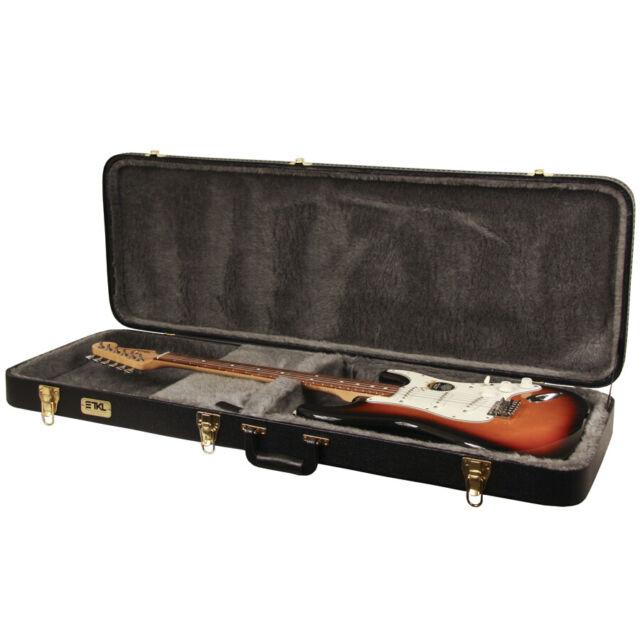 TKL Cases TKL VTR-525 Vectra Single Cutaway-Style Electric Guitar Case Black
