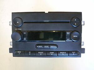 Details About 5l3t 18c869 Ad Ford Oem Cd Am Fm Radio Stereo Control Module Unit