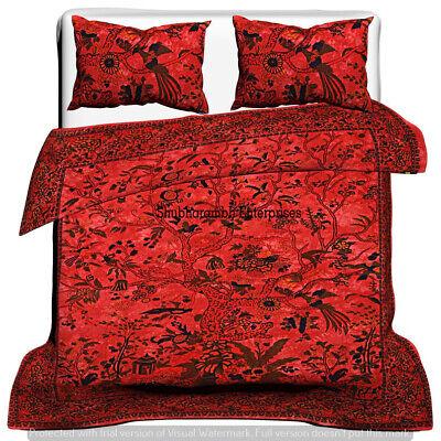 Indian Mandala Duvet Cover Doona Cover Quilt Cover Queen Size Cotton Duvet Set