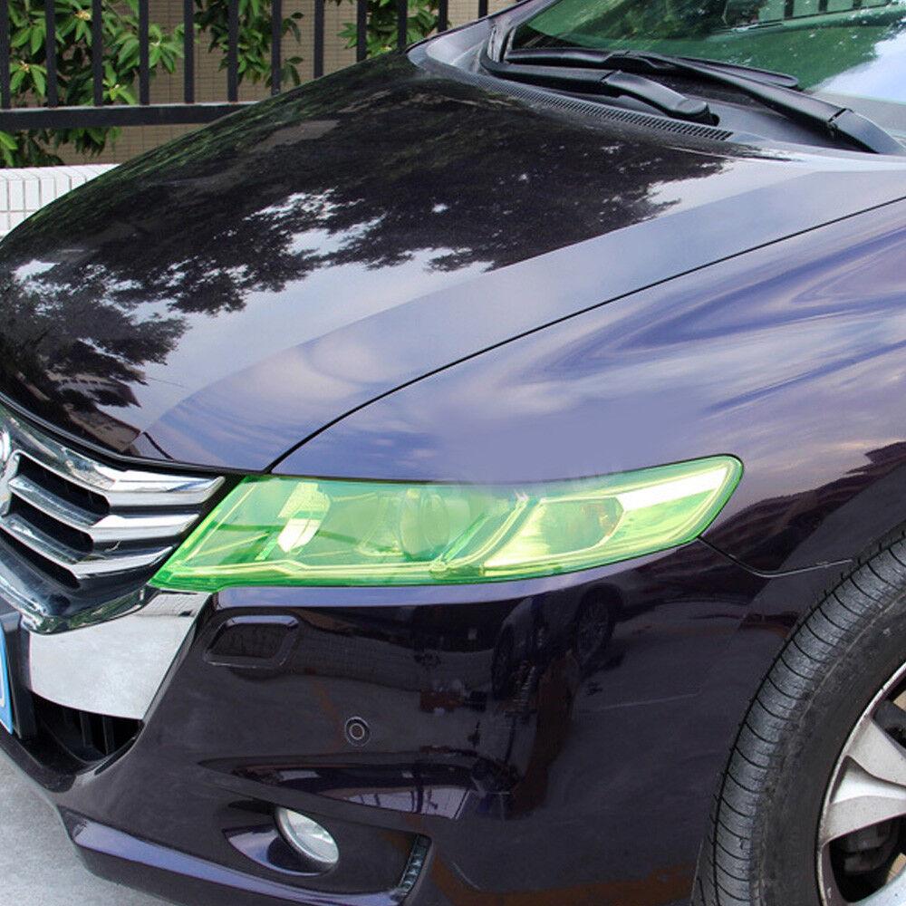Car Headlight Taillight Fog Light Sticker Tint Protector Film Vinyl Wrap Decals 8