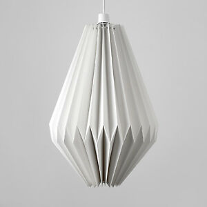 50-Cm-Grande-Doblado-Pantalla-de-Lampara-Colgante-De-Techo-Origami-pantalla-LED-Bombilla-GLS