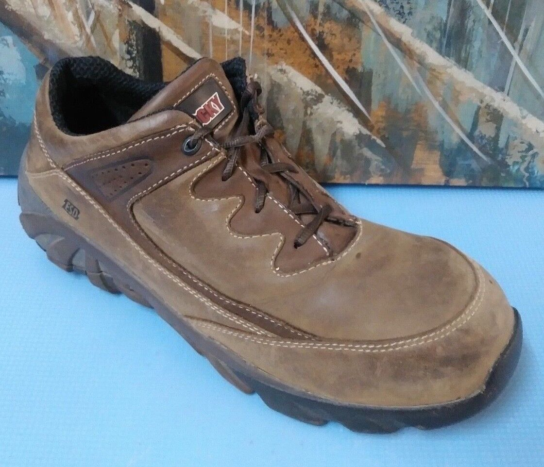 Rocky F00006064 Mens Steel Toe Waterproof Insulated Work Boots Size 13 M