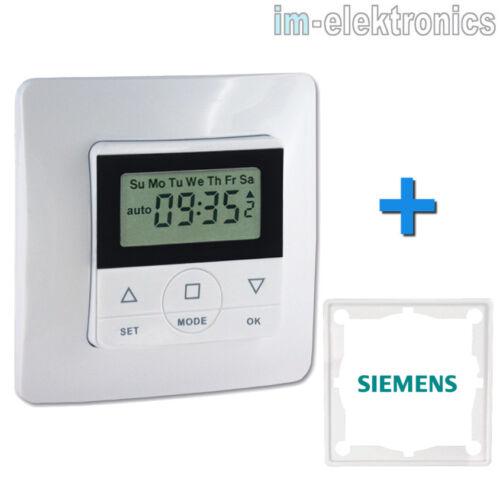 Rolladen Zeitschaltuhr für SIEMENS DELTA profil ambiente line vita miro style