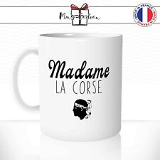Tasse personnalisée Cadeau Mug Corse Produit de Caractère Paradis Myrte Olive