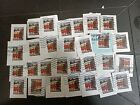 33 Barns Forever stamps on paper Used cancels vary
