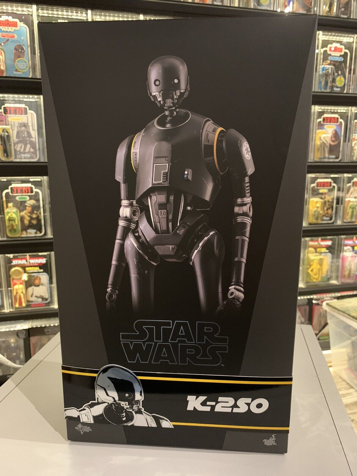 Hot Toys K-2SO Star Wars Rogue One MMS406 With Hot toys shipper on eBay thumbnail