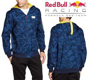 e98f163bbbb9 PUMA Men s Red Bull Racing Bomber Track Jacket Navy Blue Full Zip ...