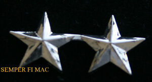 Image Is Loading TWO 2 STAR REAR ADMIRAL COLLAR HAT PIN