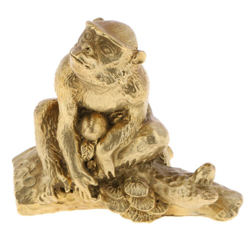 LUCKY Wealth Chinese Zodiac Animal Statue Figurine Home Office Fengshui Deco