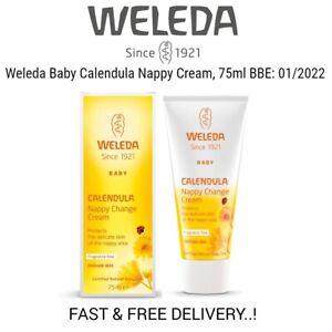Weleda Baby Calendula Nappy Cream, 75ml BBE: 01/2022 Fast & Free Delivery..!