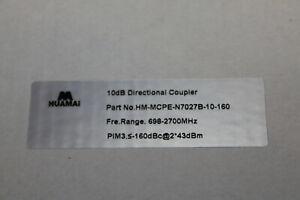Huamai 10DB Directional Coupler 698-2700MHZ NEW MCPE-n7027B