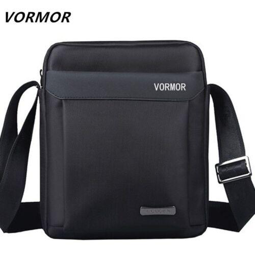 VORMOR Men bag 2018 fashion man shoulder bags  High quality oxford casual