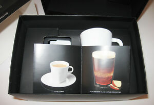 5b63f8f1aff85 Nespresso Coffee Pure Collection Big Game 2 White Espresso Cups ...