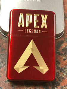 APEX-LEGENDS-logo-LIGHTER-red-ice-finish-Gift-Box-gaming-ps4-playstation-NEW