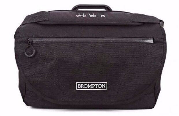 ACE Brompton S Bag with Rain Cover and Carrier Frame for Brompton Bicycle