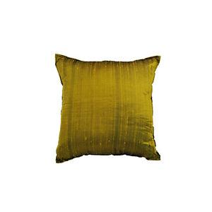 Cuscini Verde Acido.Fodera Cuscino In Seta 45x45 Color Verde Acido Ebay