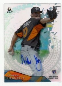 2014-Topps-Tek-ANDREW-HEANEY-Rookie-Card-RC-AUTO-AUTOGRAPH-HT-AH-Anaheim-Angels