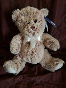 New-Rare-Kellytoy-Beige-Teddy-Bear-Plush-14-034-Stuffed-Animal